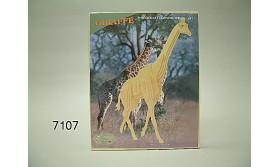 GIRAFFE HOUT/3/43