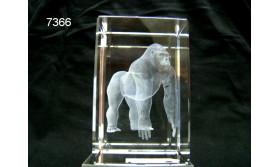 GORILLA 3D GLASBLOKJE /5X5X8CM/115