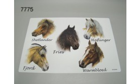 PAARD PLACEMAT/51