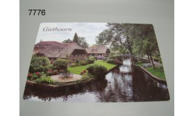 GIETHOORN PLACEMAT/51