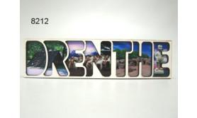 DRENTHE/MAGNEET HOUT/14,5X3,5CM/70