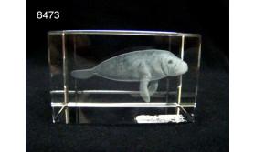 ZEEKOE 3D GLASBLOKJE/5X5X8CM/115