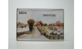 DRENTHE MAGNEET/8X5.5CM/70