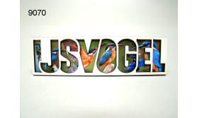 IJSVOGEL/LETTERMAGNEET/70