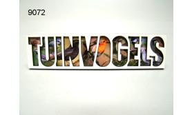 TUINVOGELS/LETTERMAGNEET/70